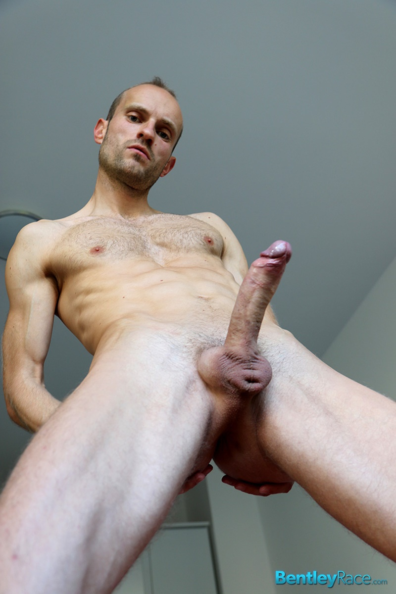Cute blonde guy with a big penis