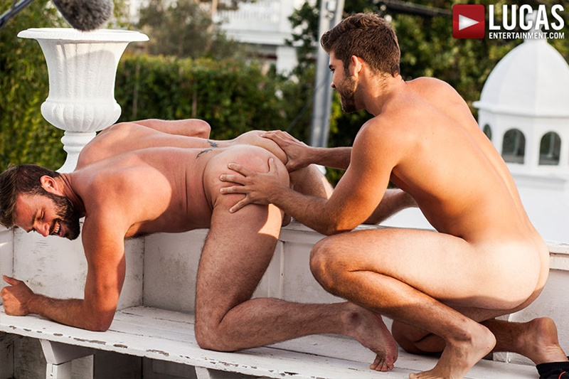 LucasEntertainment sexy naked muscle hunks tattoo Xavier Jacobs and Jonah Fontana big thick long dick anal rimming ass fucking cum explosion 001 gay porn sex gallery pics video photo - Jonah Fontana Flip-Fucks Xavier Jacobs Bareback Auditions 3