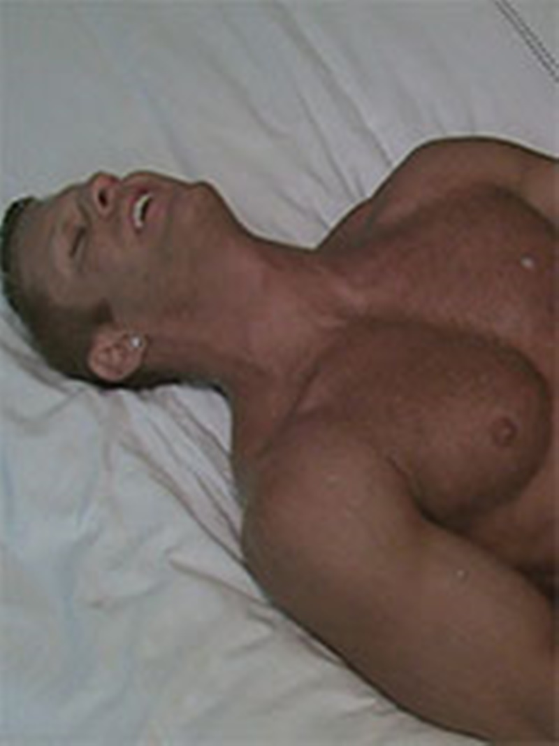 AmericanMuscleHunks sexy naked muscle men Seth Knight tattoo fucking Johnny V tight muscular ass huge cum orgasm muscled dudes 024 gay porn sex gallery pics video photo - Seth Knight finds it difficult to resist Johnny V's ass and bends him over the bed