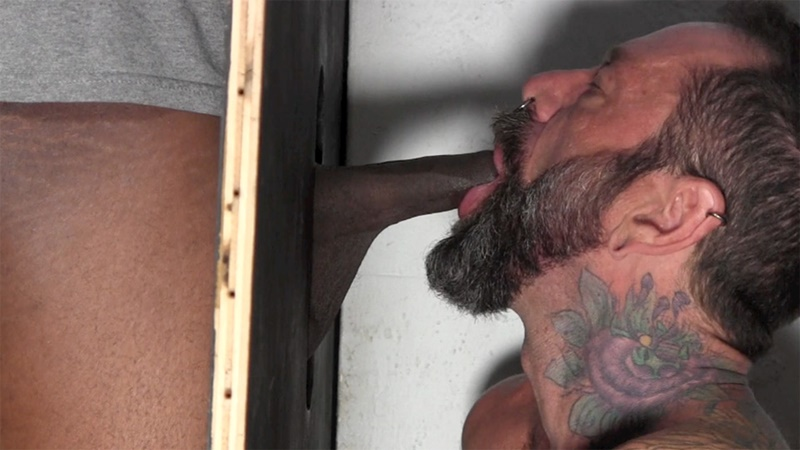 StraightFraternity Joe B linebacker build large long thick uncut dick glory hole man on men blowjob cocksucker sexy young man jerking 001 gay porn sex gallery pics video photo - Joe B has a linebacker build and a thick uncut dick that needs draining