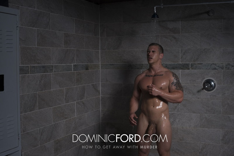 DominicFord hot naked ripped big muscle men Adam Bryant Javier Cruz huge dick fucking anal bubble butt asshole muscled dudes rimming 005 gay porn sex gallery pics video photo - Adam Bryant fucks the cum out of Javier Cruz's tight asshole