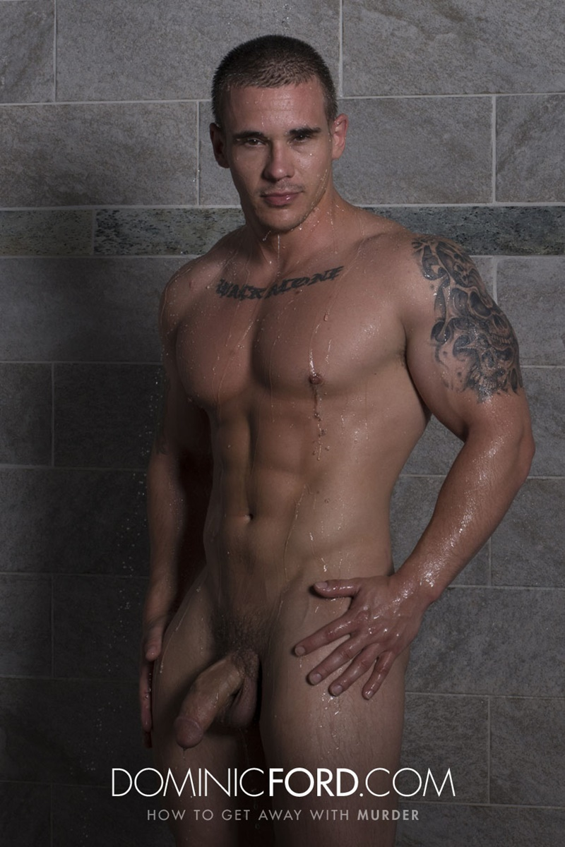 DominicFord hot naked ripped big muscle men Adam Bryant Javier Cruz huge dick fucking anal bubble butt asshole muscled dudes rimming 007 gay porn sex gallery pics video photo - Adam Bryant fucks the cum out of Javier Cruz's tight asshole