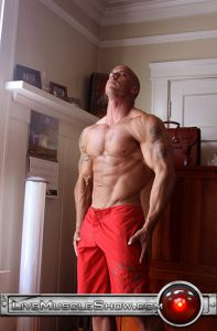 Vin Marco Live Muscle Show Gay Porn Naked Bodybuilder nude bodybuilders gay fuck muscles big muscle men gay sex 002 gallery video photo 197x300 - Vin Marco