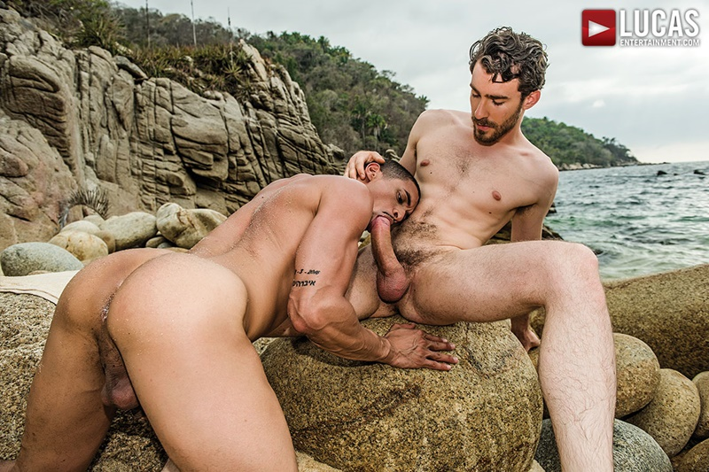 LucasEntertainment Sexy muscle hunk Ibrahim Moreno bareback raw ass fucked by Philip Zyos huge bare cock cocksucking 001 gay porn sex gallery pics video photo - Sexy muscle hunk Ibrahim Moreno loves getting his ass fucked by Philip Zyos' huge cock