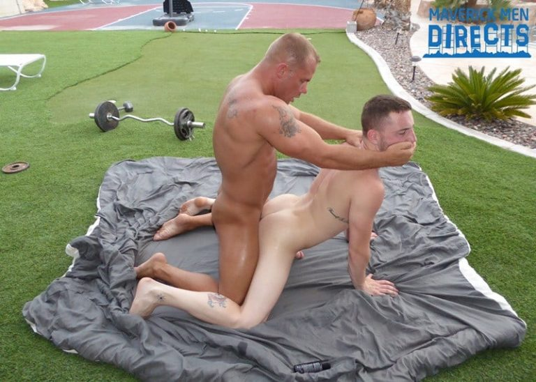 MaverickMenDirects big blond muscle dude fucks and rims dudes ass hole fucking his hole good 001 gay porn pictures gallery 768x548 - Caleb jumped down on his knees and gobbled Austin's fat cock and ate and licked his hole