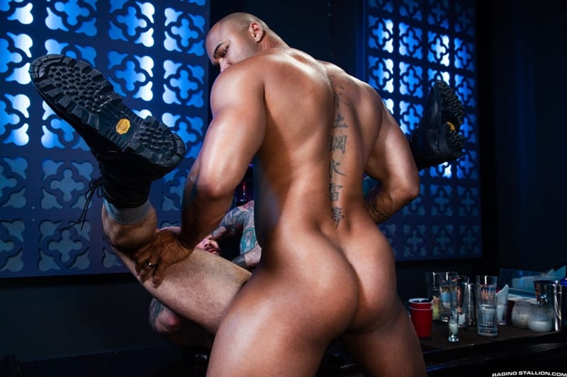 Men for Men Blog Jason-Vario-Alexander-Kristov-throbbing-cock-smooth-asshole-anal-rimming-fucking-ass-RagingStallion-011-gay-porn-pics-gallery Jason Vario turns Alexander Kristov onto his back and slides his throbbing cock deep into his smooth asshole Raging Stallion