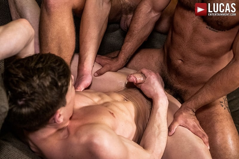 Men for Men Blog Gay-Porn-Pics-023-Andrey-Vic-Wagner-Vittoria-Ruslan-Angelo-Hot-gay-threesome-huge-dicks-double-fuck-hot-muscle-ass-LucasEntertainment Hot gay threesome Andrey Vic and Wagner Vittoria's huge dicks double-fuck Ruslan Angelo's hot muscle ass Lucas Entertainment