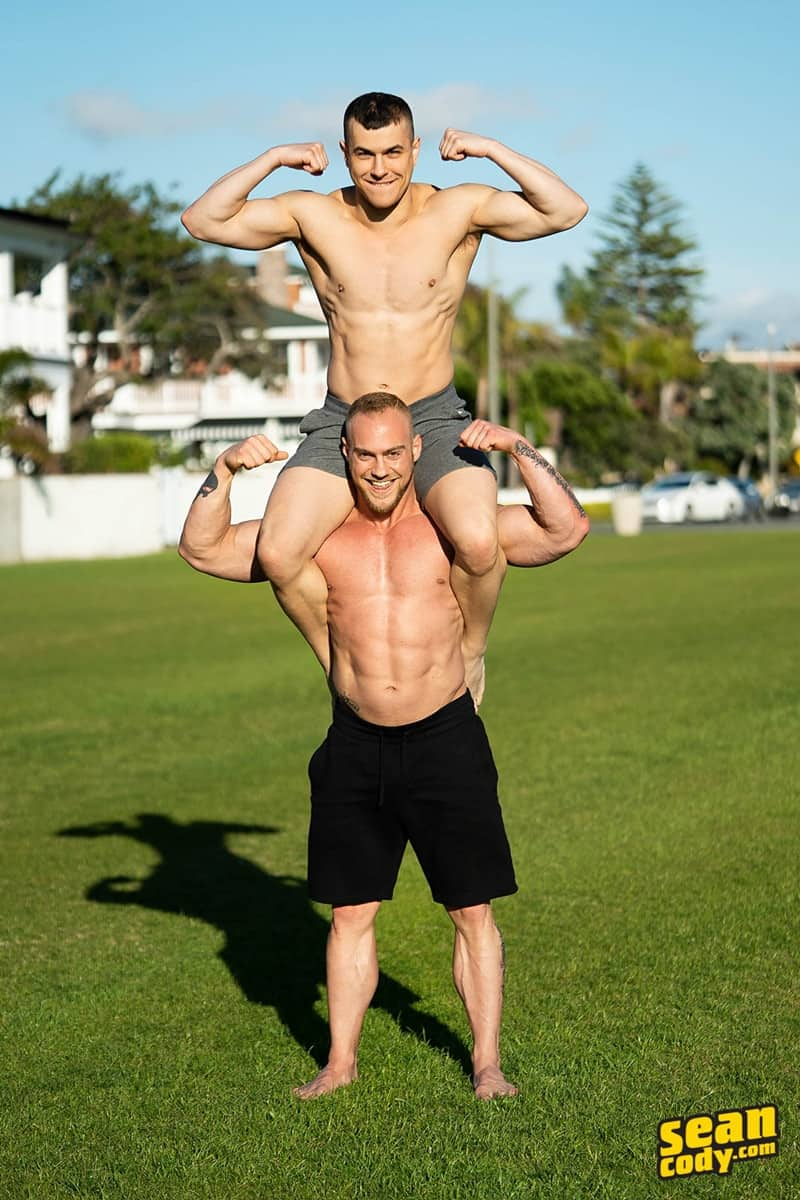 Brock Ayden hot naked muscle men barebacking deep raw ass fucking SeanCody 005 gay porn pics - Sean Cody Brock and Ayden barebacking deep raw ass fucking