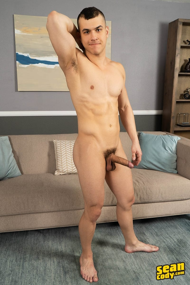 Brock Ayden hot naked muscle men barebacking deep raw ass fucking SeanCody 009 gay porn pics - Sean Cody Brock and Ayden barebacking deep raw ass fucking