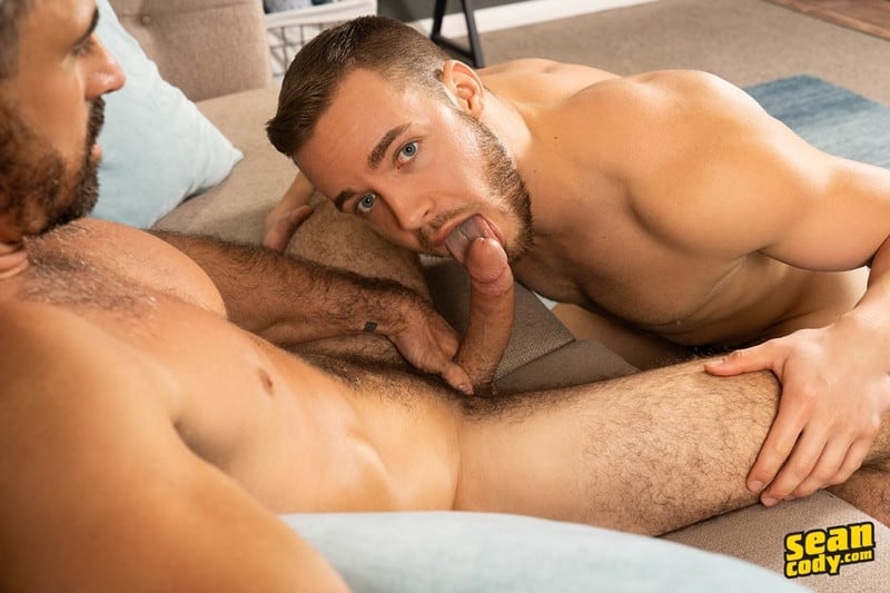 Gay Porn Pics 001 Stud Daniel muscled Cam sweaty bareback ass fucking SeanCody - Studly Daniel leads sculpted Cam through a sweaty hands on yoga session before bareback ass fucking