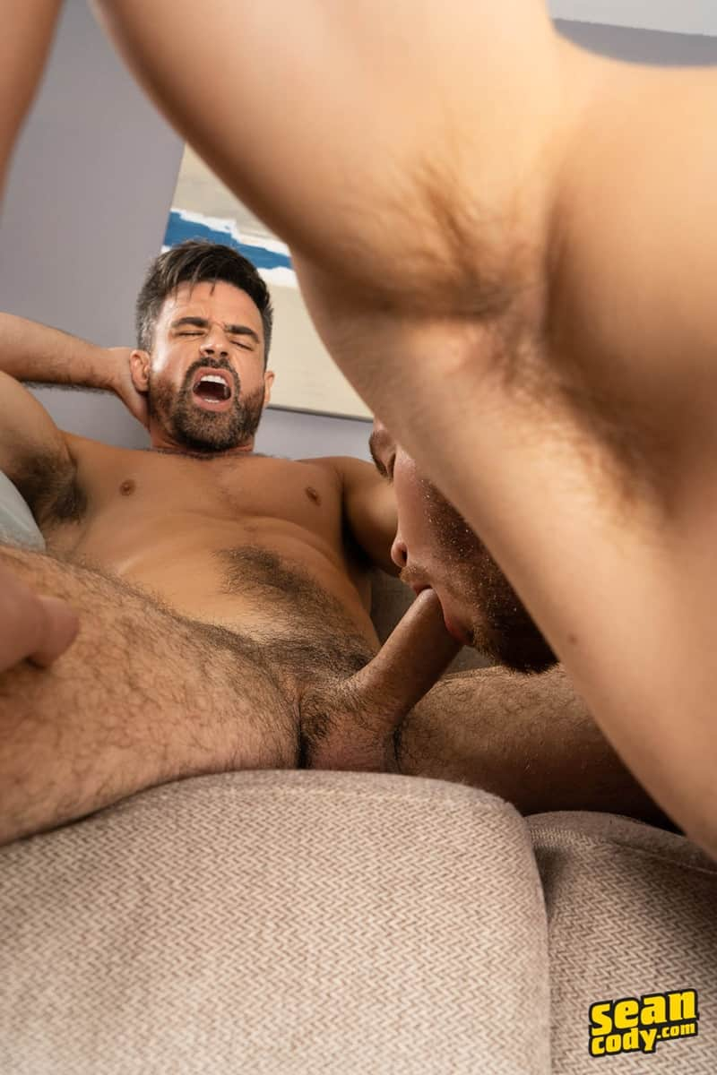 Gay Porn Pics 011 Stud Daniel muscled Cam sweaty bareback ass fucking SeanCody - Studly Daniel leads sculpted Cam through a sweaty hands on yoga session before bareback ass fucking