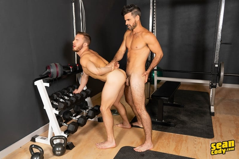 Gay Porn Pics 018 Stud Daniel muscled Cam sweaty bareback ass fucking SeanCody - Studly Daniel leads sculpted Cam through a sweaty hands on yoga session before bareback ass fucking