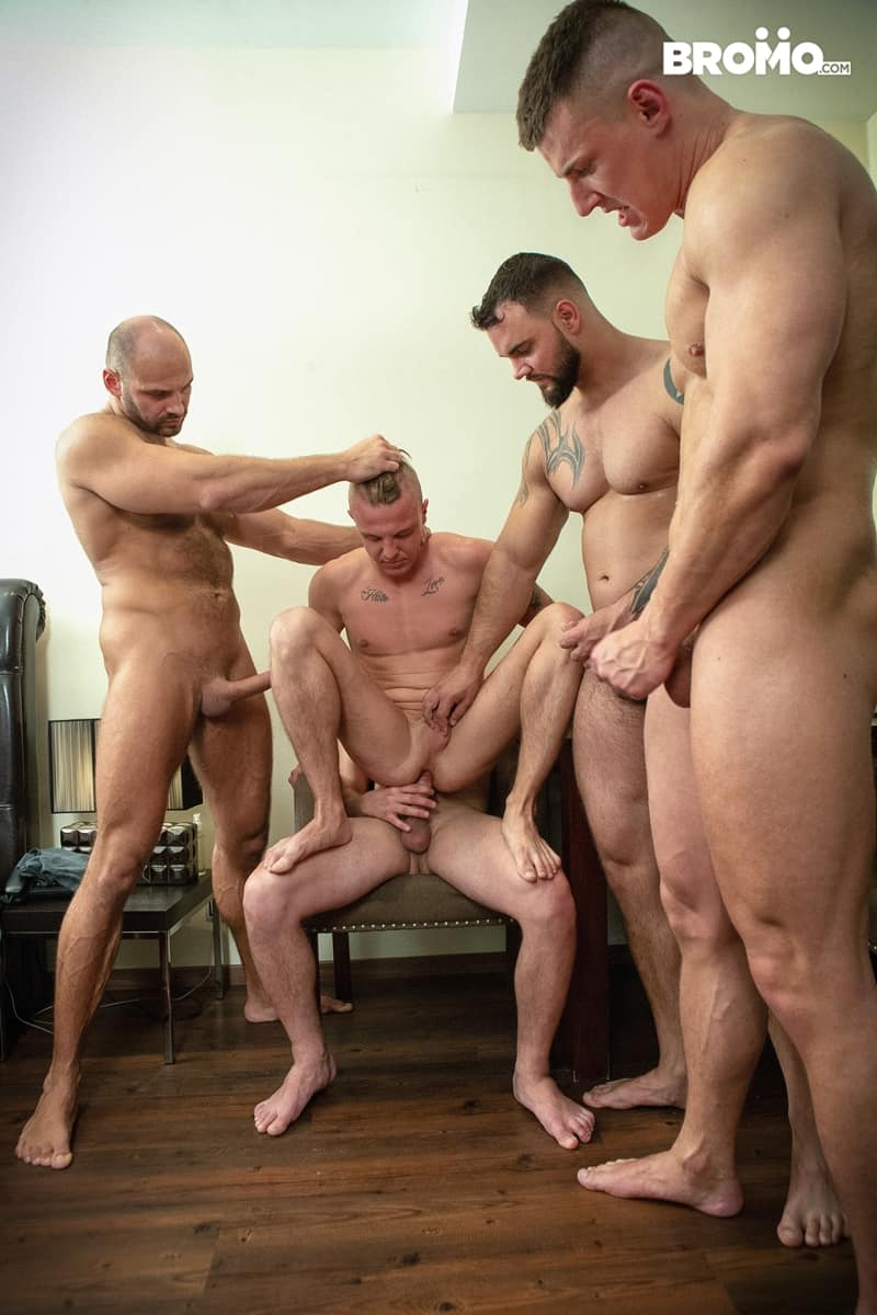 Bromo-Hot-naked-sub-dude-four-masked-men-bareback-fucking-ass-holes-015-gay-porn-pictures-gallery