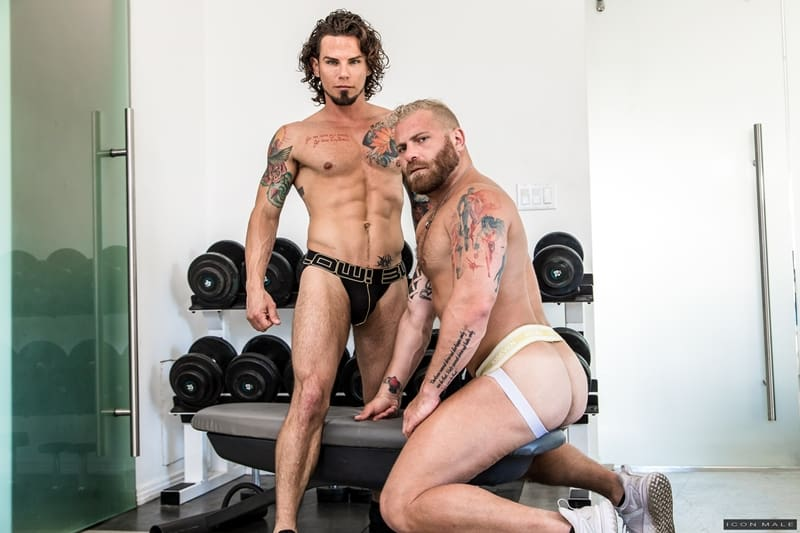 IconMale-Tattooed-young-stud-Archer-Croft-hot-ass-fucked-hard-older-muscle-guy-Riley-Mitchell-huge-cock-002-Gay-Porn-Pics