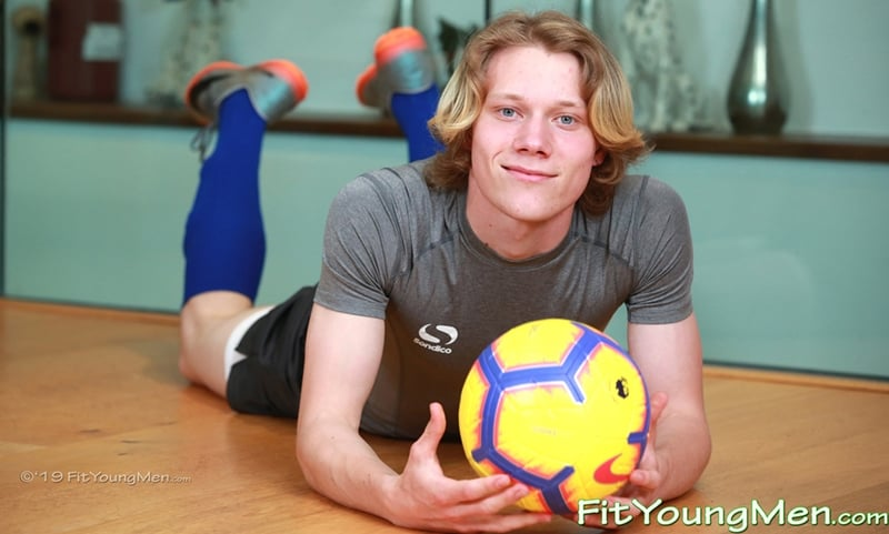 Young long haired football player Hector Turner sexy undies jerking huge uncut cock FitYoungMen 001 Gay Porn Pics - Young long haired football player Hector Turner strips down to his sexy undies before jerking his huge uncut cock