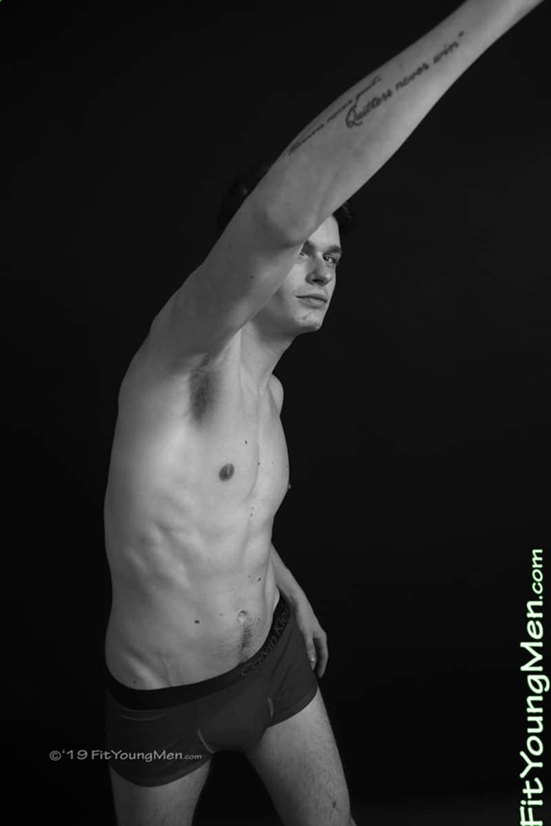 23 year old footballer Dustin Bronson strips footie kit wanking huge uncut cock FitYoungMen 009 Gay Porn Pics - 23 year old footballer Dustin Bronson strips out of his footie kit wanking his huge uncut cock