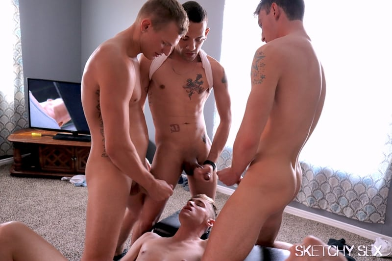 Me and my mates looking for hung dudes to cum breed our holes SketchySex 020 Gay Porn Pics - Me and my mates looking for hung dudes to cum breed our holes