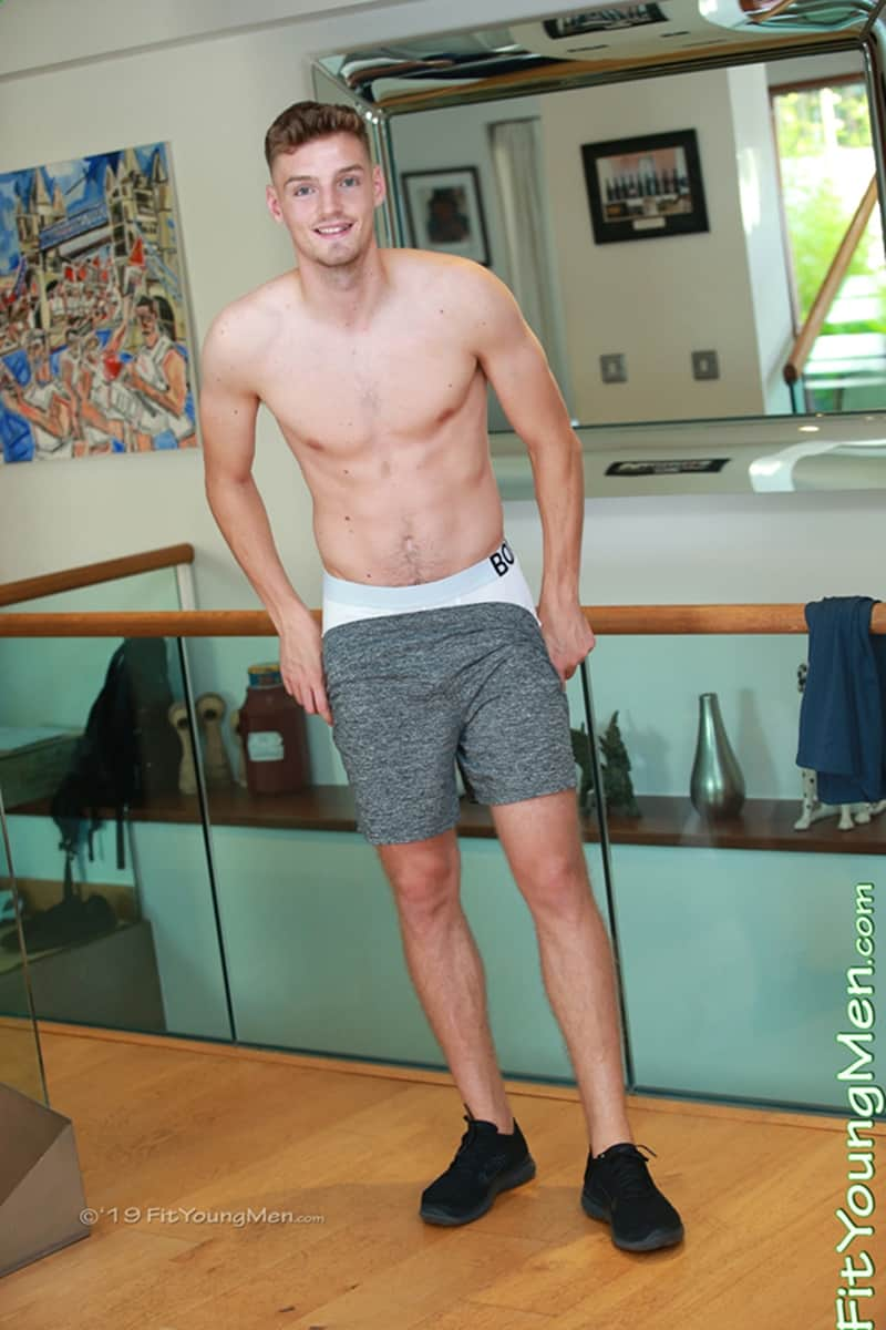 Sexy straight English Footballer Alfie Payne strips naked jerking huge uncut dick massive cum FitYoungMen 003 Gay Porn Pics - Sexy straight English Footballer Alfie Payne strips naked jerking his huge uncut dick to a massive cum shower