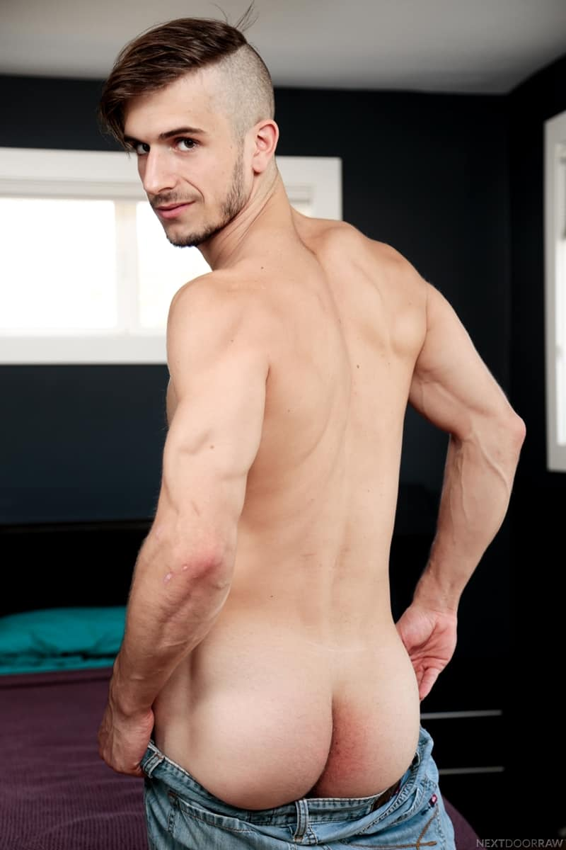 Sexy young dude Donte Thick fucks Brock Kniles hot bubble ass huge cock NextDoorStudios 007 Gay Porn Pics - Sexy young dude Donte Thick fucks Brock Kniles' hot bubble ass with his huge cock