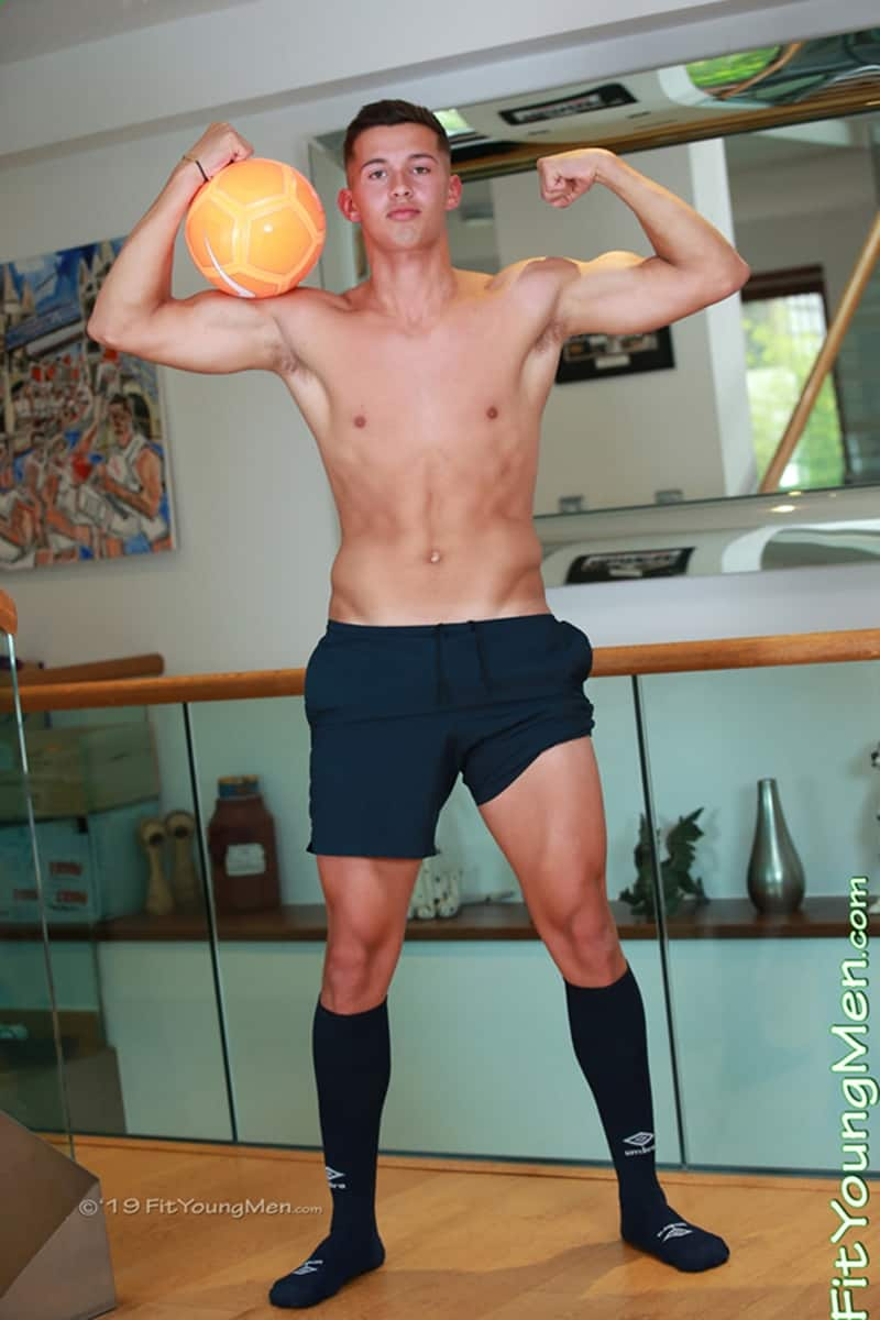 Young playful soccer player Ciaren Jones strips sexy undies jerking huge uncut cock massive load hot boy cum FitYoungMen 004 Gay Porn Pics - Young playful soccer player Ciaren Jones strips out of his sexy undies jerking his huge uncut cock to a massive load of hot boy cum