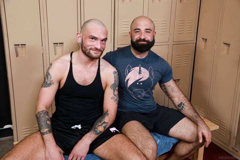 Hairy muscle bear Atlas Grant rims Gustav Netto tight ass hole thick erect cock 003 gayporn pics - Hairy muscle bear Atlas Grant rims Gustav Netto's tight ass hole getting it ready for this thick erect cock