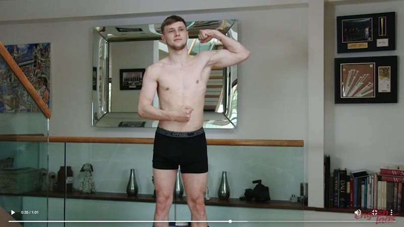 Straight young ripped soccer player Danny Davis strips naked jerking huge uncut dick massive cum explosion 001 gayporn pics - Straight young ripped soccer player Danny Davis strips naked jerking his huge uncut dick to a massive cum explosion
