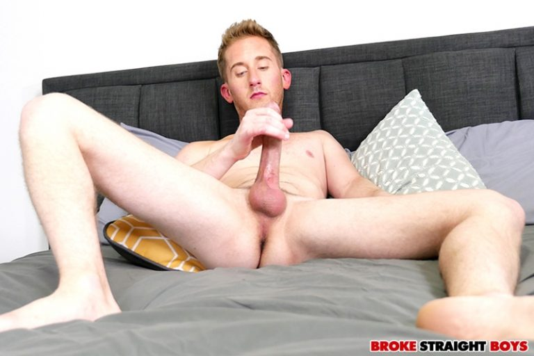 Gorgeous young red head Chase Daniels strips naked jerking big cock spurts cum 001 gay porn pics 768x512 - Gorgeous young red head Chase Daniels strips naked jerking his big cock till he spurts cum all over