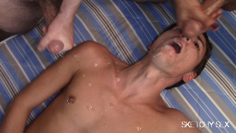 Bossy Bottoms new roomie first dick anal fucking 014 gay porn pics - Bossy Bottoms didn't mean to pop off at the new roomie but he interrupted the first dick I was getting today