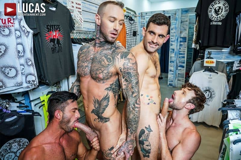 Hardcore barebacking foursome Andy Star Drew Dixon Dylan James Max Arion big muscle raw dick fucking 001 gay porn pics - Hardcore barebacking foursome Andy Star, Drew Dixon, Dylan James and Max Arion big muscle raw dick fucking