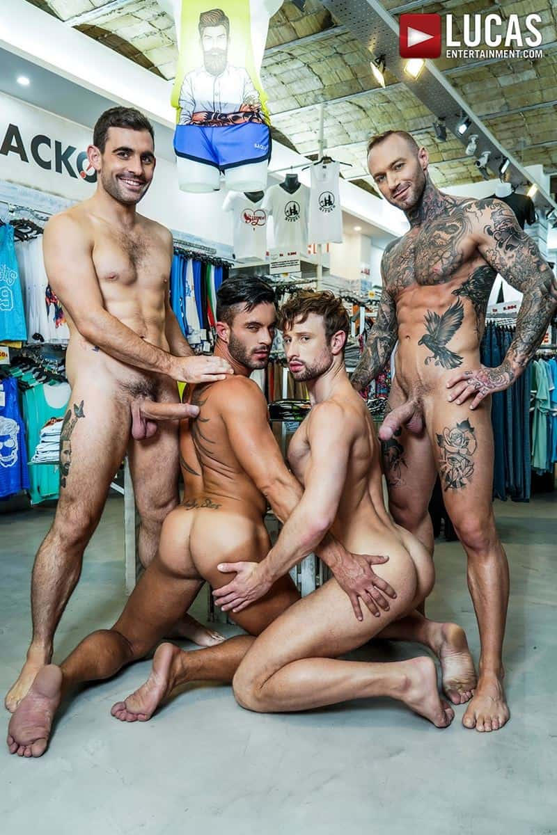 Hardcore barebacking foursome Andy Star Drew Dixon Dylan James Max Arion big muscle raw dick fucking 010 gay porn pics - Hardcore barebacking foursome Andy Star, Drew Dixon, Dylan James and Max Arion big muscle raw dick fucking