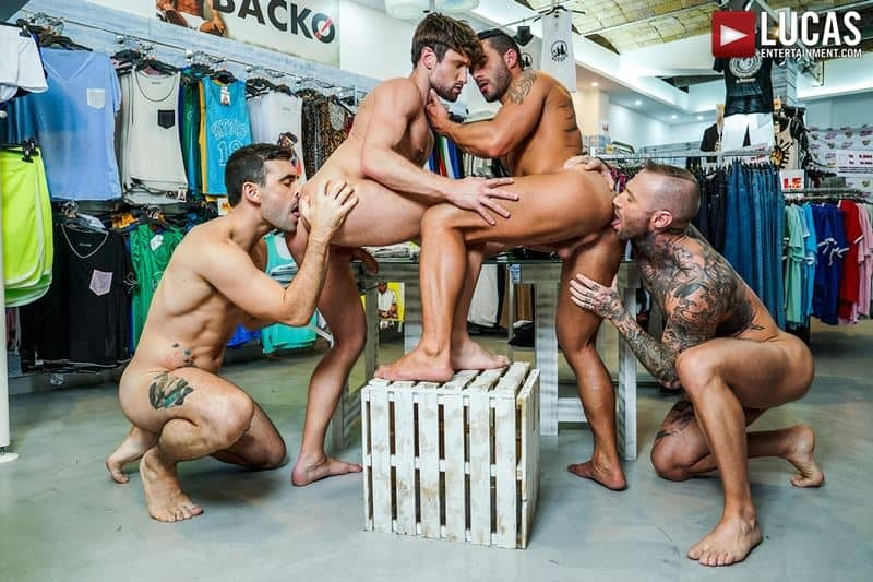 Hardcore barebacking foursome Andy Star Drew Dixon Dylan James Max Arion big muscle raw dick fucking 012 gay porn pics - Hardcore barebacking foursome Andy Star, Drew Dixon, Dylan James and Max Arion big muscle raw dick fucking