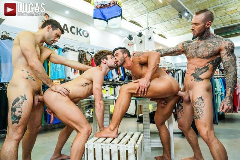 Hardcore barebacking foursome Andy Star Drew Dixon Dylan James Max Arion big muscle raw dick fucking 013 gay porn pics - Hardcore barebacking foursome Andy Star, Drew Dixon, Dylan James and Max Arion big muscle raw dick fucking