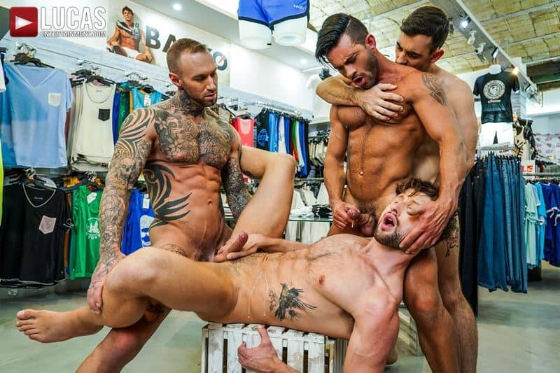 Hardcore barebacking foursome Andy Star Drew Dixon Dylan James Max Arion big muscle raw dick fucking 016 gay porn pics - Hardcore barebacking foursome Andy Star, Drew Dixon, Dylan James and Max Arion big muscle raw dick fucking