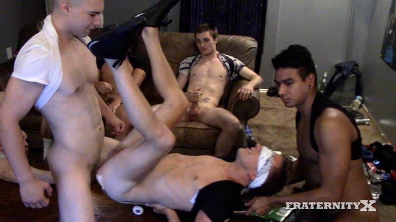 Real frat boy initiation Fraternity X 001 gay porn pics - Real frat boy's initiation at Fraternity X