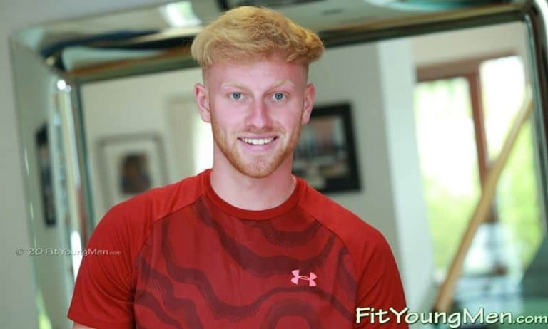 Straight ginger English sportsman Ethan Williams sports kit wanking huge uncut dick massive load cum 001 gay porn pics 768x462 - Straight ginger English sportsman Ethan Williams whips off his sports kit wanking his huge uncut dick to a massive load of cum