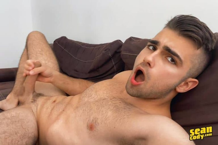 Hottie hairy chested young muscle hunk Thony Grey strips naked jerking huge cock cums 001 gay porn pics 768x512 - Hottie hairy chested young muscle hunk Thony Grey strips naked jerking his huge cock till he cums all over himself