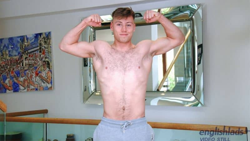 Sexy straight boxer Joe Fitzpatrick strips naked jerking huge uncut dick explodes cum hairy chest 005 gay porn pics - Sexy straight boxer Joe Fitzpatrick strips naked jerking his huge uncut dick till he explodes cum all over his hairy chest