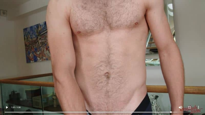Sexy straight boxer Joe Fitzpatrick strips naked jerking huge uncut dick explodes cum hairy chest 024 gay porn pics - Sexy straight boxer Joe Fitzpatrick strips naked jerking his huge uncut dick till he explodes cum all over his hairy chest