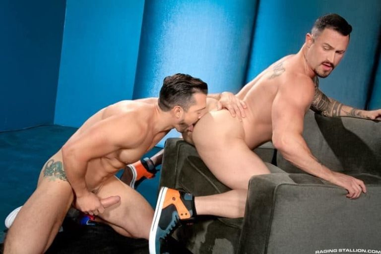 Big muscle dudes Jimmy Durano and Seven Dixons big erect dick muscled ass fucking 001 gay porn pics 768x512 - Big muscle dudes Jimmy Durano and Seven Dixons' big erect dick muscled ass fucking