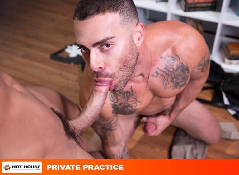 Doctor Sean Zevran huge erect cock fucking Carlos Lindo hot hole 001 gay porn pics 768x563 - Doctor Sean Zevran's huge erect cock fucking Carlos Lindo's hot hole