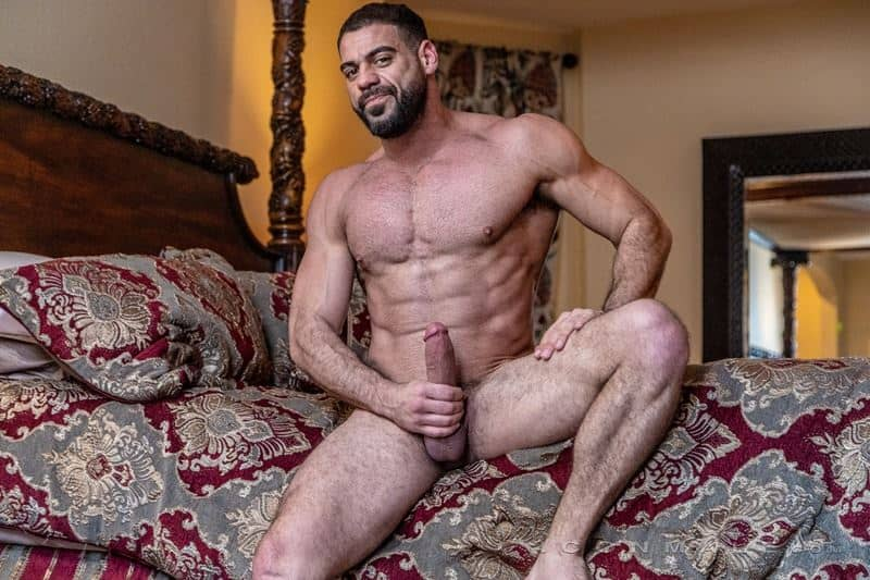 Hairy muscle dudes Mason Lear Ricky Larkin big thick dick anal fucking 012 gay porn pics - Hairy muscle dudes Mason Lear and Ricky Larkin big thick dick anal fucking