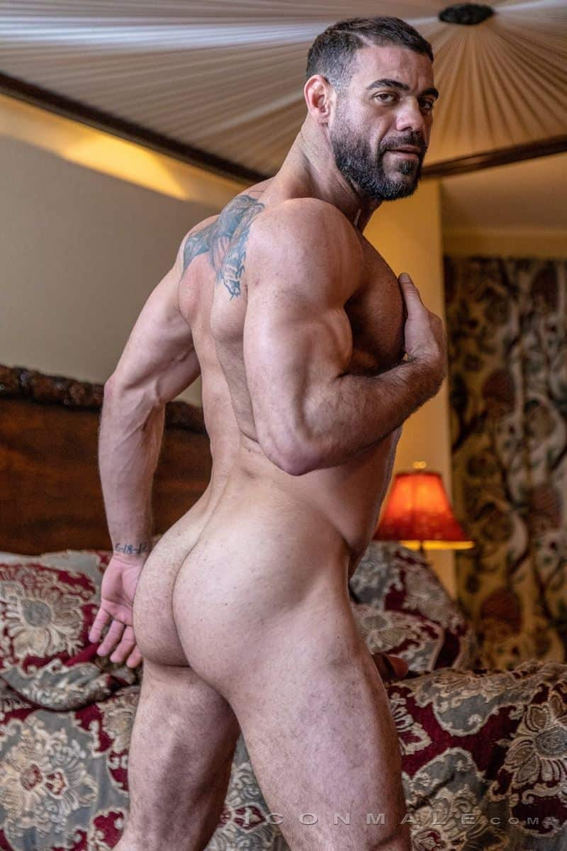 Hairy muscle dudes Mason Lear Ricky Larkin big thick dick anal fucking 014 gay porn pics - Hairy muscle dudes Mason Lear and Ricky Larkin big thick dick anal fucking