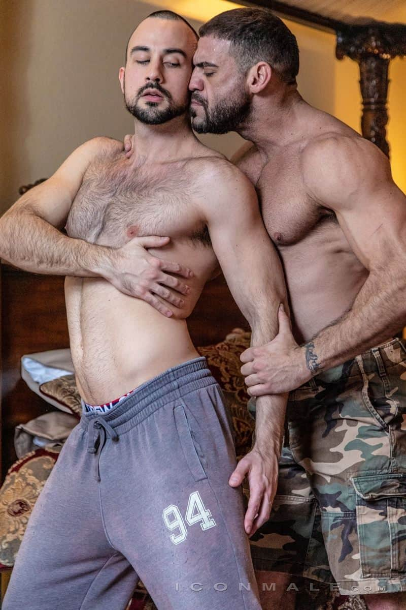 Hairy muscle dudes Mason Lear Ricky Larkin big thick dick anal fucking 017 gay porn pics - Hairy muscle dudes Mason Lear and Ricky Larkin big thick dick anal fucking
