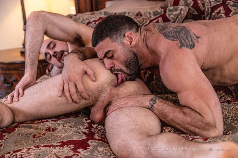 Hairy muscle dudes Mason Lear Ricky Larkin big thick dick anal fucking 023 gay porn pics - Hairy muscle dudes Mason Lear and Ricky Larkin big thick dick anal fucking