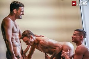 Ethan Chase hot hole double fucked sexy muscle dudes Max Arion Ruslan Angelo massive thick dicks 001 gay porn pics 300x200 - Ethan Chase's hot hole double fucked by sexy muscle dudes Max Arion and Ruslan Angelo's massive thick dicks