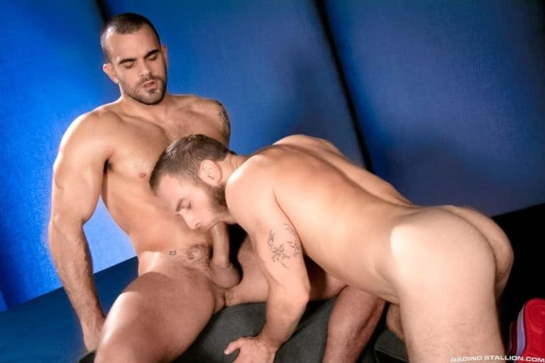 Horny young hairy muscle stud Damien Crosse fucks hot muscled dude Shawn Wolfe hot bubble ass 001 gay porn pics 768x512 - Horny young hairy muscle stud Damien Crosse fucks hot muscled dude Shawn Wolfe's hot bubble ass