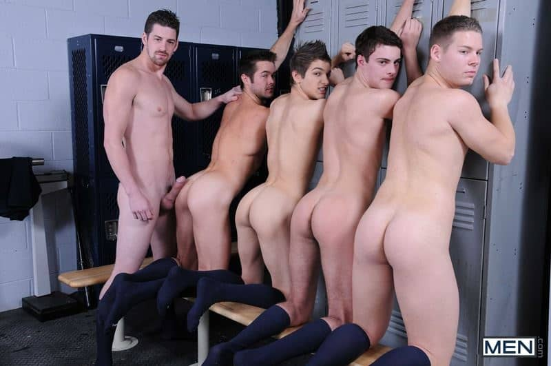 Baseball team lockeroom orgy Johnny Rapid Riley Banks Hunter Page Mike De Marko asses fucked coach Andrew Stark 002 gay porn pics - Baseball team lockeroom orgy Johnny Rapid, Riley Banks, Hunter Page and Mike De Marko's asses fucked by coach Andrew Stark