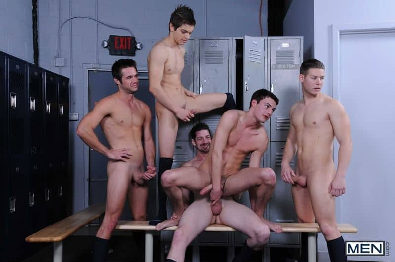 Baseball team lockeroom orgy Johnny Rapid Riley Banks Hunter Page Mike De Marko asses fucked coach Andrew Stark 007 gay porn pics - Baseball team lockeroom orgy Johnny Rapid, Riley Banks, Hunter Page and Mike De Marko's asses fucked by coach Andrew Stark