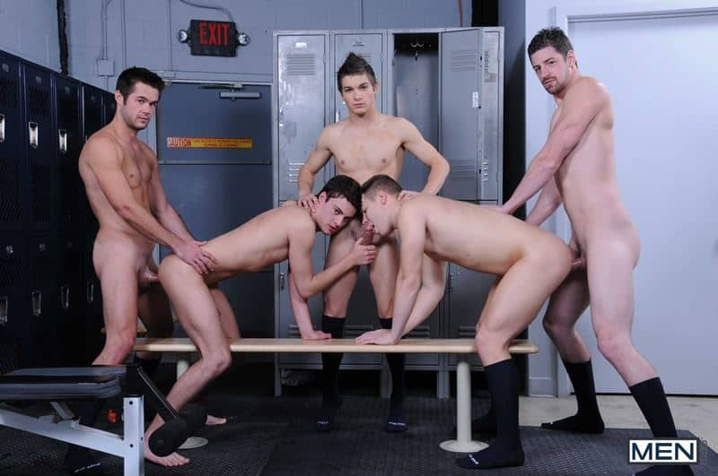 Baseball team lockeroom orgy Johnny Rapid Riley Banks Hunter Page Mike De Marko asses fucked coach Andrew Stark 012 gay porn pics - Baseball team lockeroom orgy Johnny Rapid, Riley Banks, Hunter Page and Mike De Marko's asses fucked by coach Andrew Stark