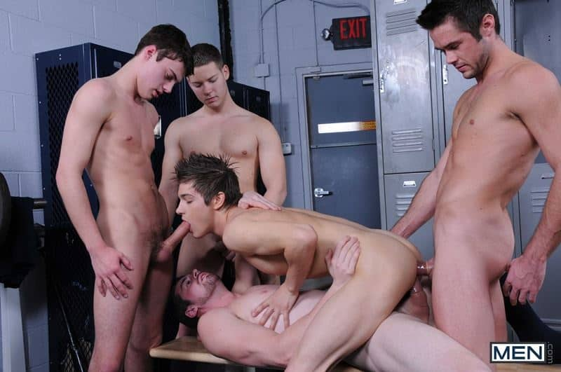 Baseball team lockeroom orgy Johnny Rapid Riley Banks Hunter Page Mike De Marko asses fucked coach Andrew Stark 016 gay porn pics - Baseball team lockeroom orgy Johnny Rapid, Riley Banks, Hunter Page and Mike De Marko's asses fucked by coach Andrew Stark